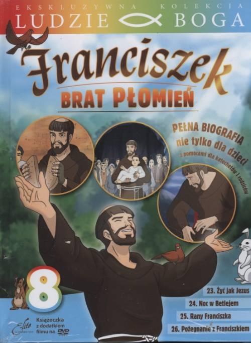 Franciszek. Brat Płomień 8 (DVD) - okładka filmu