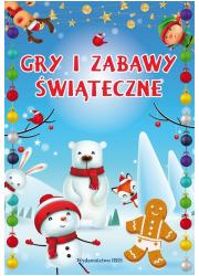 Gry i zabawy świąteczne - okładka książki