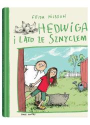 Hedwiga i lato ze Sznyclem - okładka książki