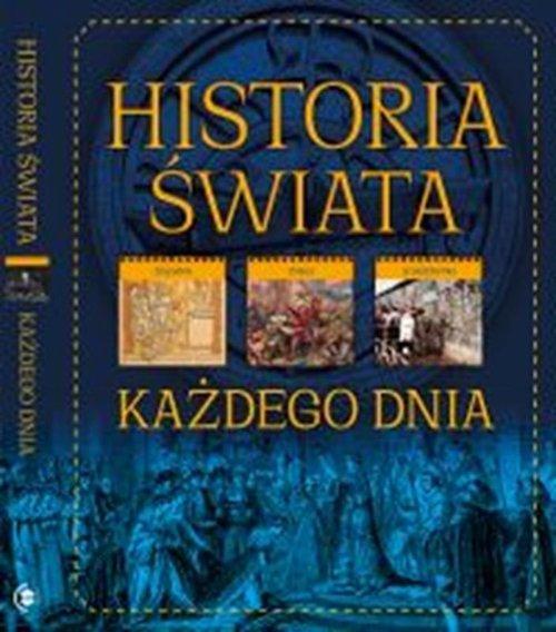Historia świata. Każdego dnia - okładka książki