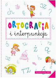 Mały geniusz. Ortografia i interpunkcja - okładka książki
