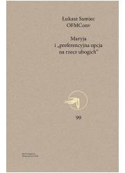 Maryja i preferencyjna opcja na - okładka książki