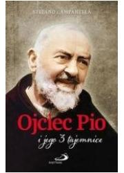 Ojciec Pio i jego 3 tajemnice - okładka książki