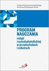 Program nauczania religii rzymskokatolickiej - okładka książki