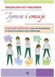 Tymon i emocje. Historyjki społeczne - okładka książki