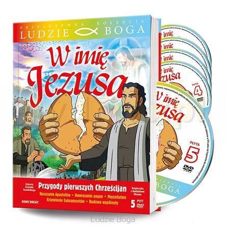 W imię Jezusa (5 x DVD) - okładka filmu
