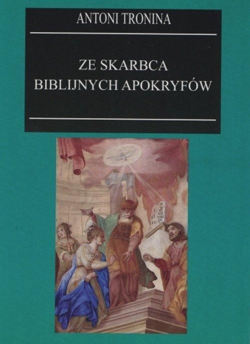Ze skarbca biblijnych apokryfów - okładka książki