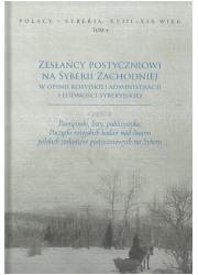 Zesłańcy postyczniowi na Syberii - okładka książki