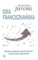 Idea franciszkańska - okładka książki