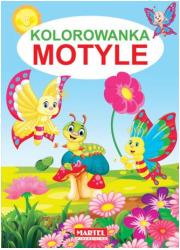 Kolorowanka Motyle - okładka książki