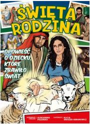 Komiks Święta Rodzina - okładka książki
