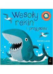 Książka rozkładanka. Wesoły rekin - okładka książki