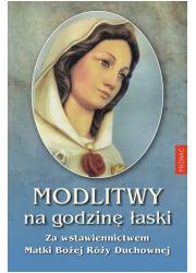 Modlitwy na Godzinę Łaski za wstawiennictwem - okładka książki