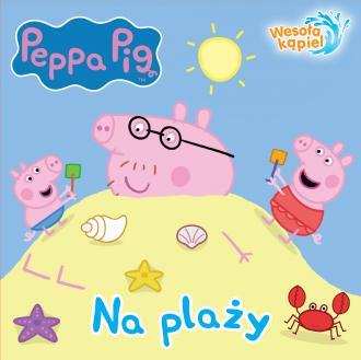 Na Plaży świnka Peppa Wesoła Kąpiel