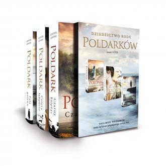 Pakiet Poldark cz. 5-7 - okładka książki