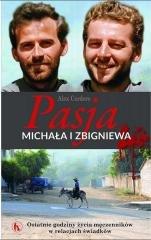 Pasja Michała i Zbigniewa - okładka książki