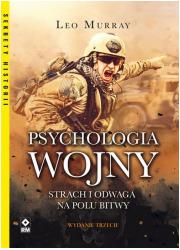 Psychologia wojny. Strach i odwaga - okładka książki