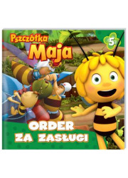 Pszczółka maja. Order za zasługi - okładka książki