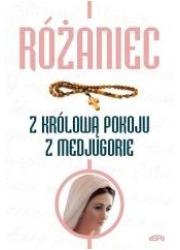 Różaniec z Królową Pokoju z Medjugorie - okładka książki