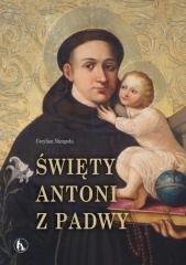 Święty Antoni z Padwy - okładka książki