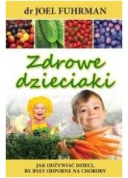 Zdrowe dzieciaki - okładka książki