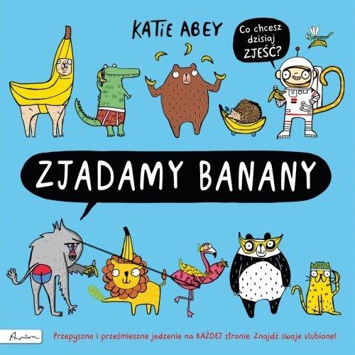 Zjadamy banany - okładka książki