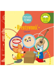 Kreatywność. Przygody Fenka /Sobik - okładka książki