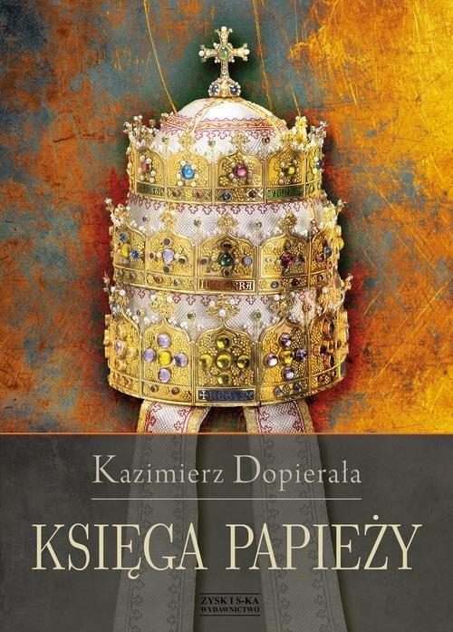 Księga papieży - okładka książki