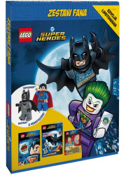 LEGO DC Super Heroes. Zestaw fana - okładka książki
