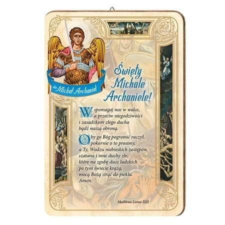 Modlitwa do św. Michała Archanioła. - zdjęcie dewocjonaliów