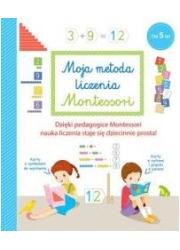 Moja metoda liczenia Montessori - okładka książki