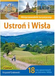 Przewodnik turystyczny Ustroń i - okładka książki