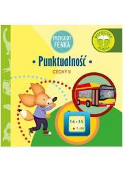 Punktualność Przygody Fenka / Sobik - okładka książki
