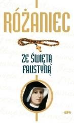 Rózaniec ze świętą Faustyną - okładka książki
