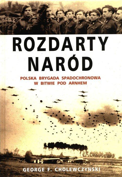 Rozdarty Naród. Polska brygada - okładka książki