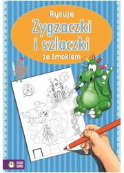 Rysuję zygzaczki i szlaczki ze - okładka książki