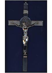 Cudowny krzyż św. Benedykta (ścienny, - zdjęcie dewocjonaliów