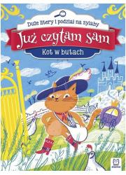 Już czytam sam. Kot w Butach. Duże - okładka książki