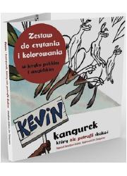 Kevin kangurek, który nie potrafił - okładka książki