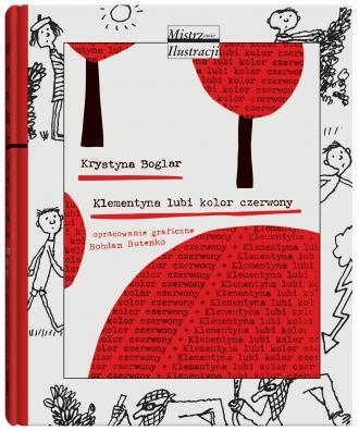 Klementyna lubi kolor czerwony - okładka książki