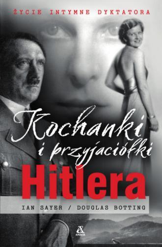 Kochanki i przyjaciółki Hitlera - okładka książki