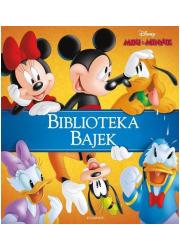 Miki & Minnie. Biblioteka Bajek - okładka książki
