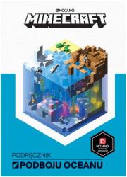 Minecraft. Podręcznik podboju oceanu - okładka książki