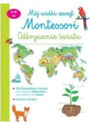 Mój wielki zeszyt. Montessori. - okładka książki