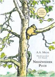Niedźwiodek Puch - okładka książki
