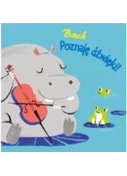 Poznaję dźwięki II Bach - okładka książki