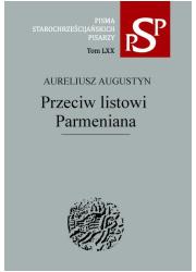 Przeciw listowi Parmeniana. Seria: - okładka książki