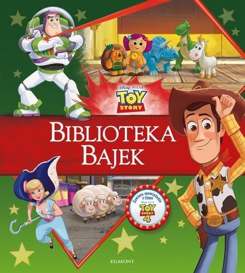 Toy Story. Biblioteka Bajek - okładka książki