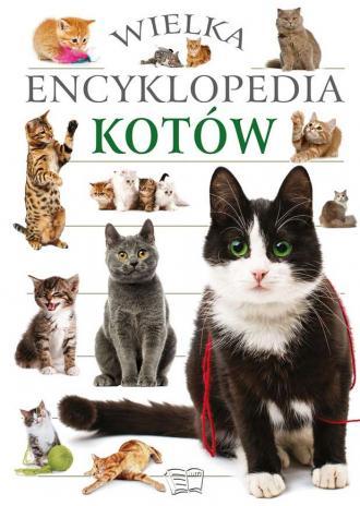 Wielka encyklopedia kotów - okładka książki