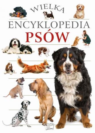 Wielka encyklopedia psów - okładka książki